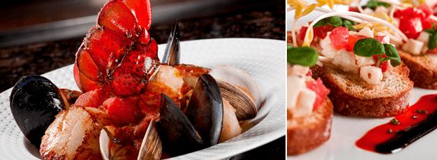 Cala Bella Seafood Pescatore & Bruschetta
